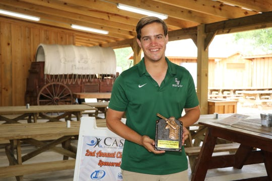 Brad Solis was overall male champion with a score of 93 at the 2019 Clays for CASTLE event at Quail Creek Plantation.
