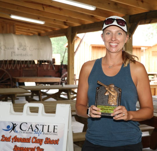 Janie Howe was the overall female champion with a score of 94 at the 2019 Clays for CASTLE event at Quail Creek Plantation.