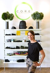 Currie Gossett, owner of C.O.R.E. Grow Strong in downtown Greenville.