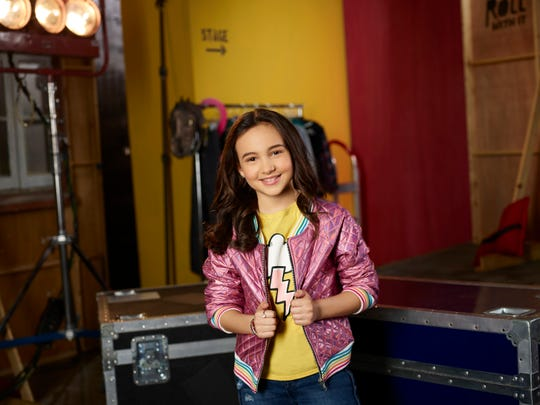 "In the Disney Channel show ""Just Roll With it"" Ventura's Kaylin Hayman, 11, plays Blair."