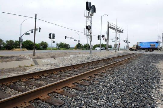 STAR FILE PHOTO Railroad tracks in Oxnard.