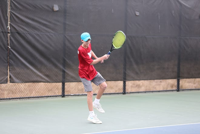Nyack's Ethan Landsman is the 2019 Rockland boys tennis player of the year