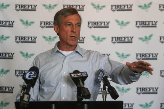 Delaware Governor John Carney said that he hopes Firefly Music Festival will attract people to join the state's workforce.