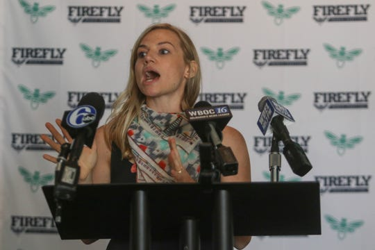 Firefly Music Festival Director Stephanie Mezzano said the festival added a new beach club and more showers to the festival's northern campground.
