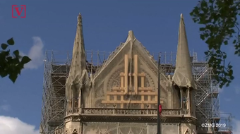 As the first mass was held after the devastating fire of Notre Dame, Parisians are still mourning. But it turns out, most of the funding for it's reconstruction is actually coming from Americans.