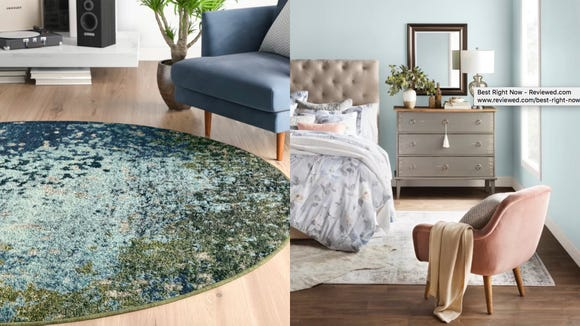 Elevate your space with these stylish and affordable rugs.
