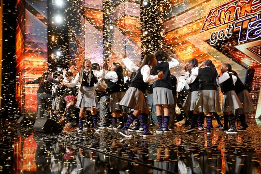 "The Detroit Youth Choir brought down the house with their ""America's Got Talent"" audition. And the got a golden buzzer for their work."