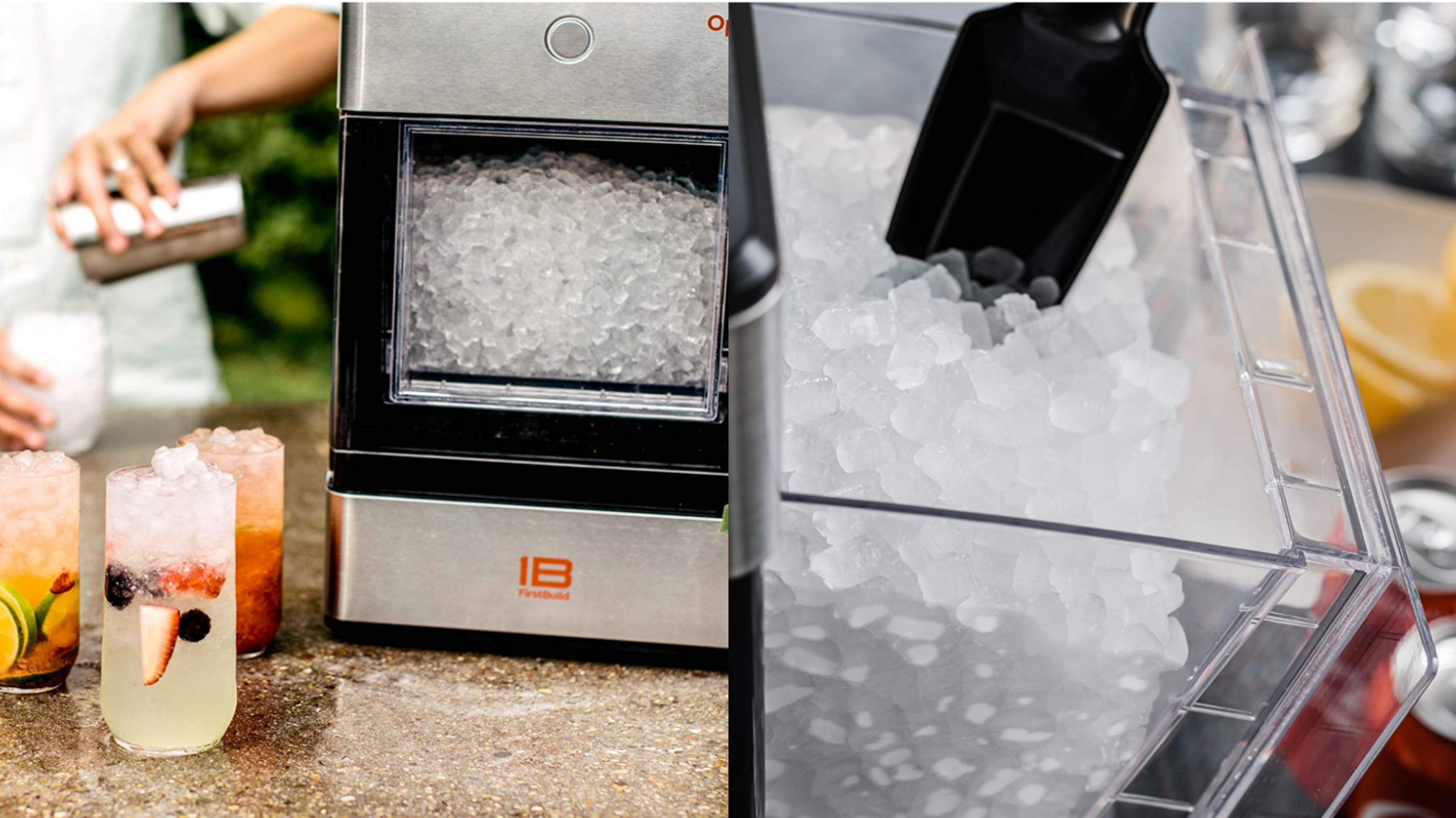 The Best Selling Opal Nugget Ice Machine Is Finally On