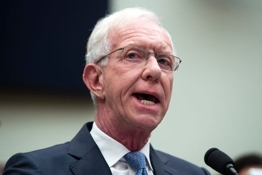 Retired airline pilot Chesley 'Sully' Sullenberger appears before the US House Transportation and Infrastructure Committee subcommittee hearing, 'Status of the Boeing 737 MAX - Stakeholder Perspectives',