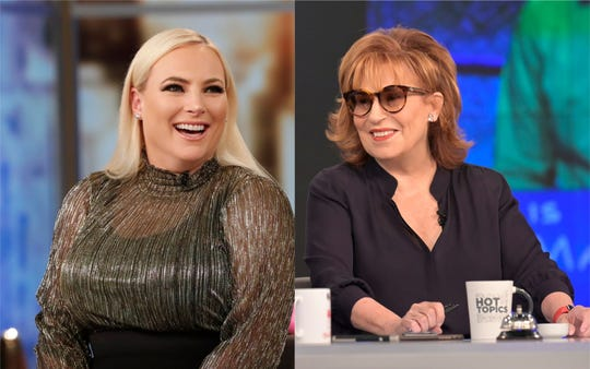 Meghan McCain and Joy Behar