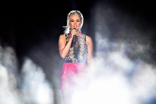 Carrie Underwood is currently on tour and she has her whole family along for the ride with her.