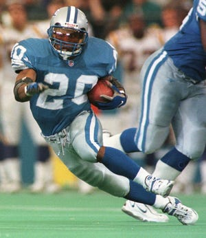 Detroit's Barry Sanders retired with plenty left in the tank.