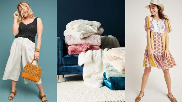 Save big on clothing, furniture, and accessories at the Anthropologie Summer Tag Sale.