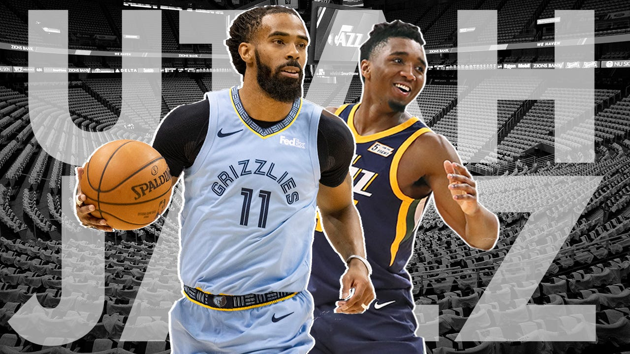 newest cca52 ef2d1 Donovan Mitchell speaks about Mike Conley trade