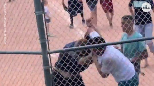 Police investigating brawl that broke out among adults at Colorado youth baseball game