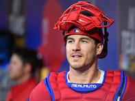 J.T. Realmuto emerges as rock among Phillies' stars: 'His toughness is already legendary'