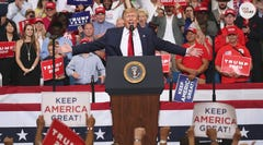 President Donald Trump formally kicked off his 2020 re-election campaign at a 20,000-seat arena in Orlando.