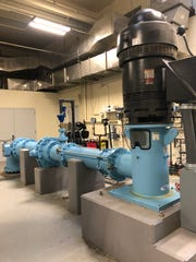 New pump systems at the Oak Glen Water Treatment Plant in Howell.