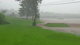 Oxford resident Mat White captured flash flooding in oxford the evening of June 19, 2019.