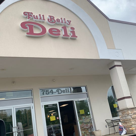 Full Belly Deli is located on 1550 Vestal Parkway East.
