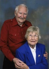 Fred and Wilma Strickland, of Swannanoa, celebrated 70 years of marriage on June 4.
