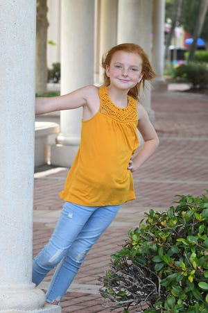 9-year-old Aspen Strader is the Space Coast Parent Child of the Month for July, 2019. Photos taken in Cocoa Village.