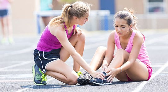 Common injuries include patellofemoral pain syndrome (runner's knee), Achilles tendonitis, plantar fasciitis, hamstring strain, shin splints, iliotibial (IT) band syndrome, and stress fractures.