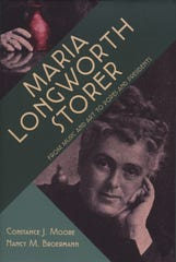 "Book cover for ""Maria Longworth Storer: From Music and Art to Popes and Presidents"" by Constance J. Moore and Nancy M. Broermann."