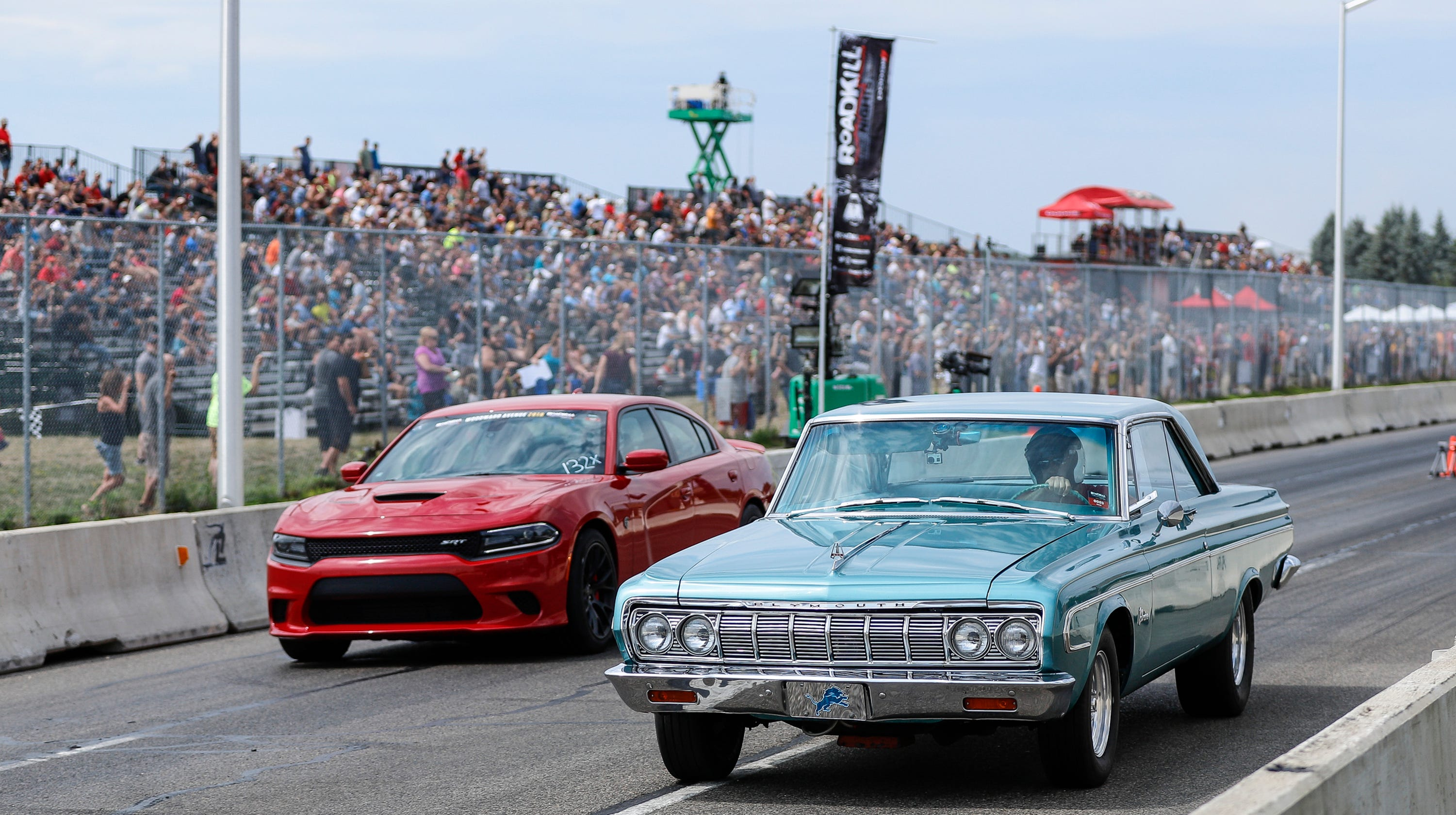 Roadkill Nights Powered by Dodge returns to Woodward Avenue