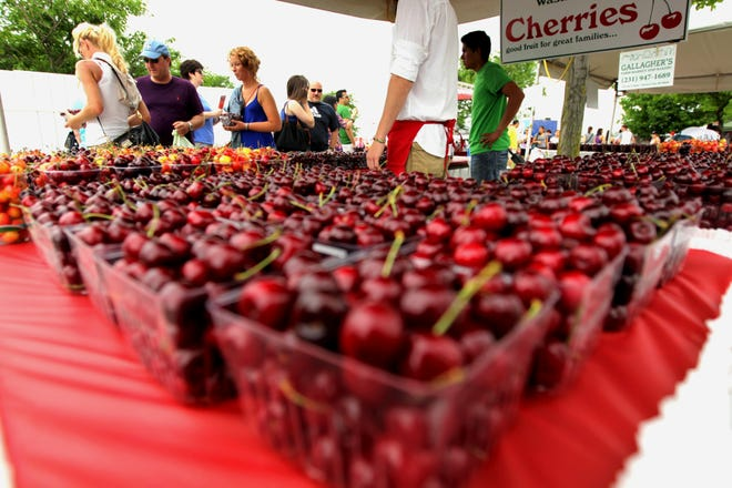 The National Cherry Festival runs through July 6 in Traverse City.