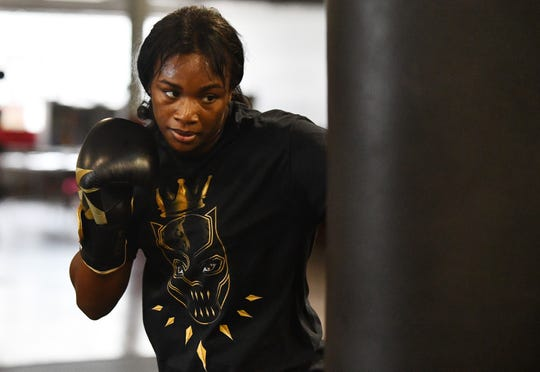 Claressa Shields, the undisputed middleweight world boxing champion from Flint, has postponed her Aug. 17 fight scheduled for her hometown after suffering a minor knee injury during training this week.