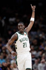 Milwaukee forward Tony Snell has been traded to Detroit along with the 30th pick in Thursday's NBA Draft for Jon Leuer.