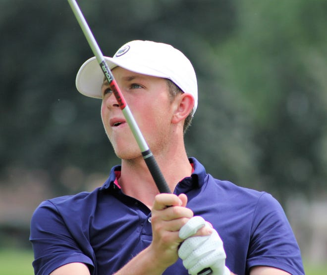 Ben Smith of Novi shot 5-under 65 on Wednesday at the Michigan Amateur.