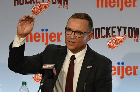 "Red Wings general manager Steve Yzerman says he expects to get a ""good prospect"" with the No. 6 pick in the NHL Entry Draft."