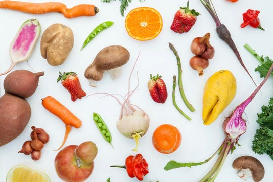 Imperfect Produce's fruits and vegetables may not always look ideal, but they taste the same as grocery store produce.