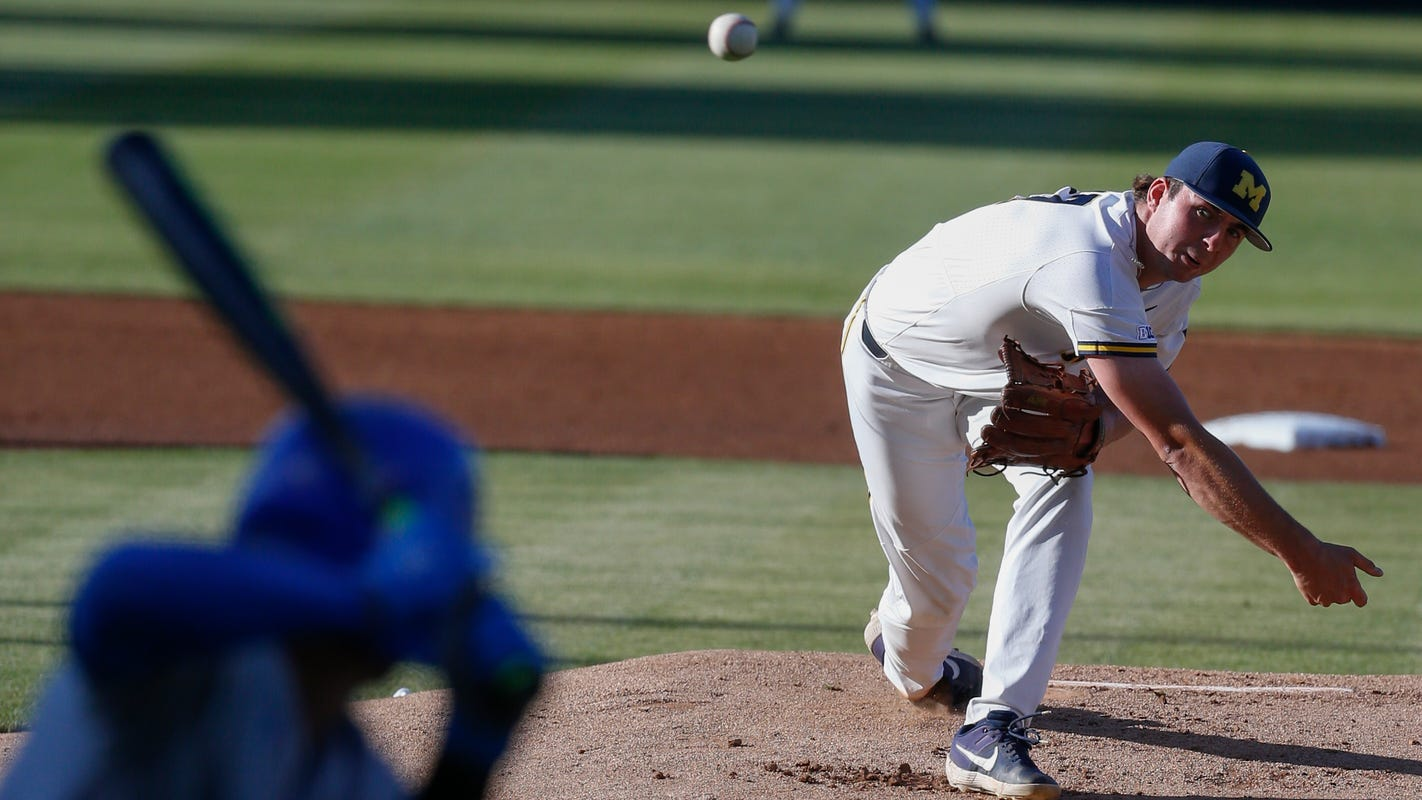 First or last, Jeff Criswell a powerful weapon on Michigan pitching staff