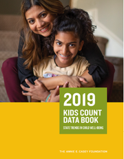 The 2019 Kids Count Data Book looks at nationwide trends in child well-being.