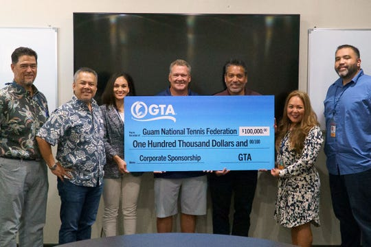 GTA commits $100,000 to help build the Guam National Tennis Center.