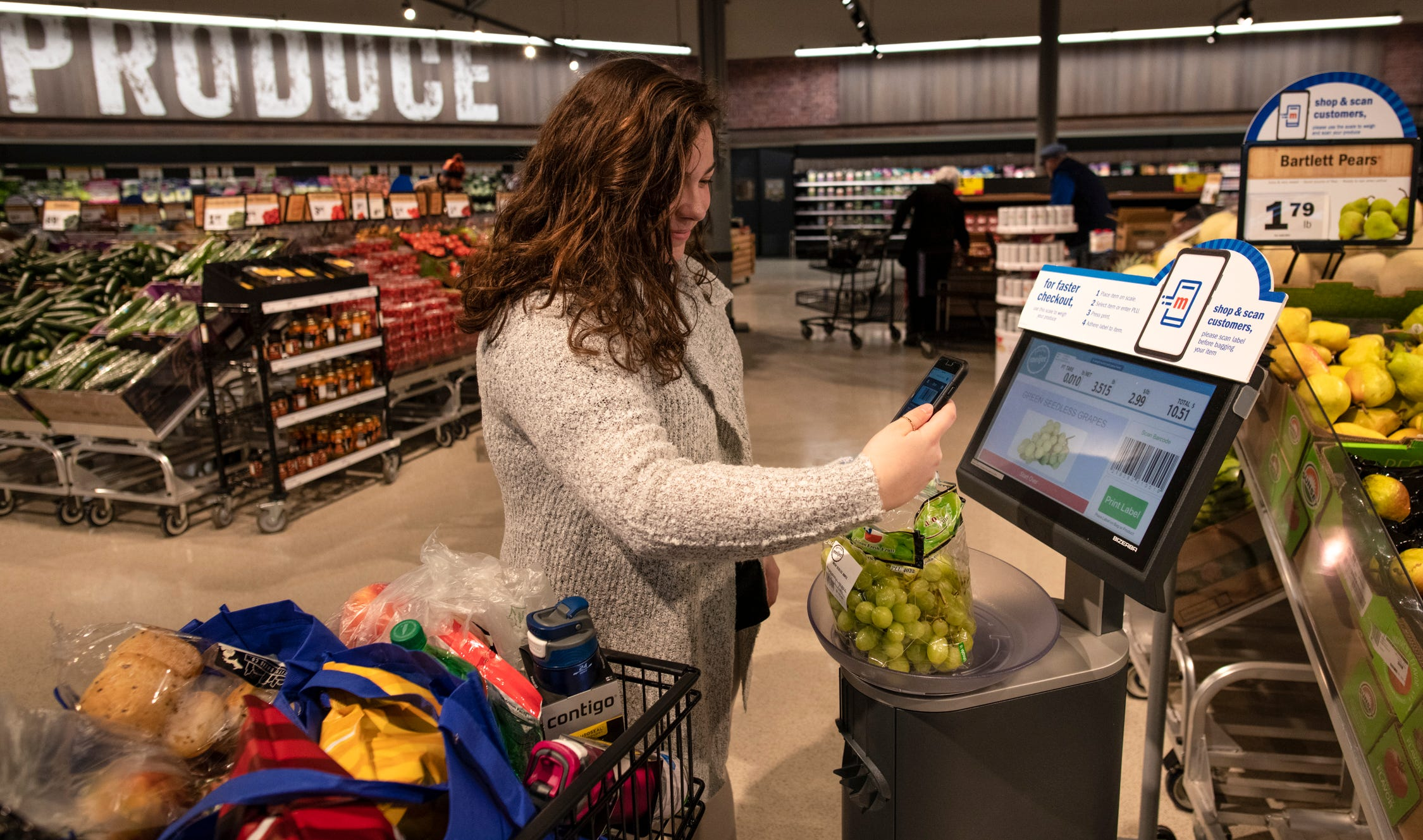 meijer launches  u0026 39 shop  u0026 scan u0026 39  service in indianapolis stores