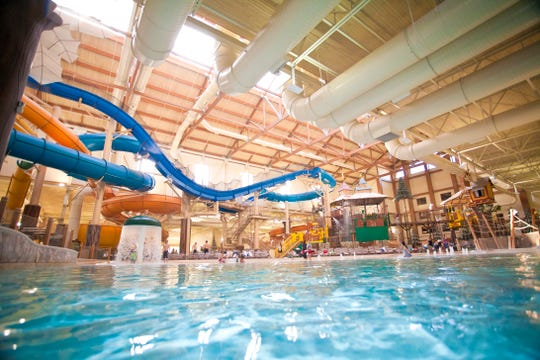 A peek inside the Great Wolf Lodge water park in Mason, Ohio. Great Wolf Lodge is proposing a project in Jackson, Tenn.