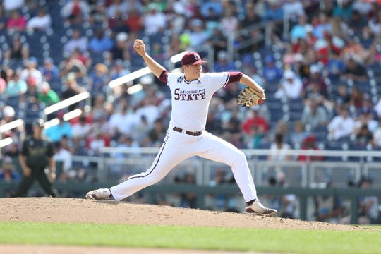 Mississippi State junior pitcher Keegan James helped his team tremendously with a 3.2-inning out against Vanderbilt on Wednesday.