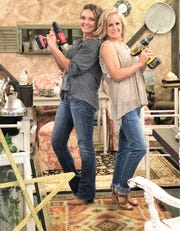 Kim Longmire-Carter tempted Ginger Lay away from her Hotel Road Fountain City store to open The Bird's Nest in Halls. Both women are skilled with power tools and love to paint and distress old furniture.