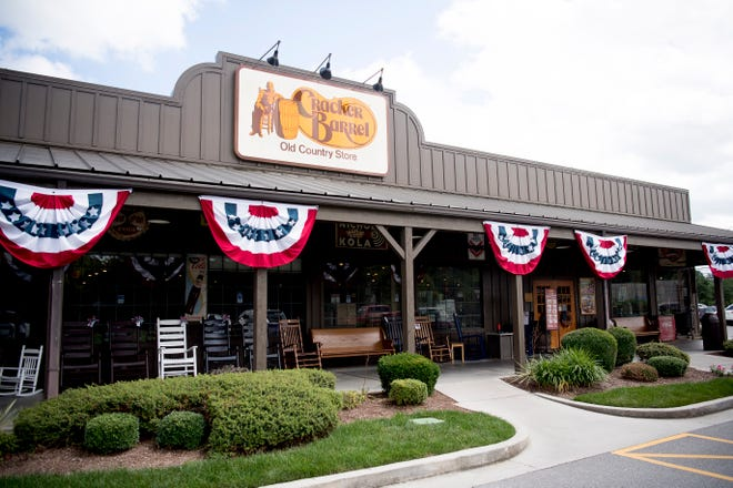 The Cracker Barrel Old Country Store in Farragut, Tennessee, is pictured in a file photo from June 2019.