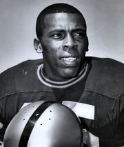Purdue defensive back John Charles, who was named 1967 Rose Bowl MVP