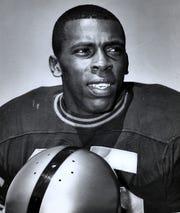 Purdue defensive back John Charles, who was named 1967 Rose Bowl MVP
