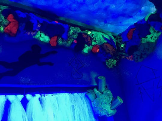 Relax in the Cozy Sea Cave at the Children's Museum of Acadiana