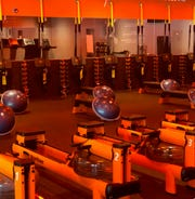 A view inside an Orangetheory Fitness location on Main Street in Ann Arbor shows what a new location coming this year to the Brighton Mall will look like after it opens.