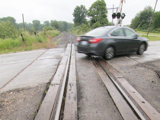 Railroad crossing repairs to close nine roads in Livingston