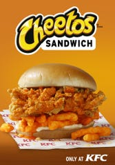 The new Cheetos Sandwich will be available for a limited time, starting on July 1.