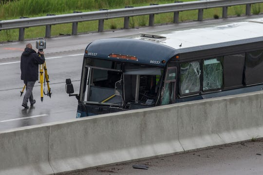Greyhound Bus Crashes In Kentucky Was Set To Stop In